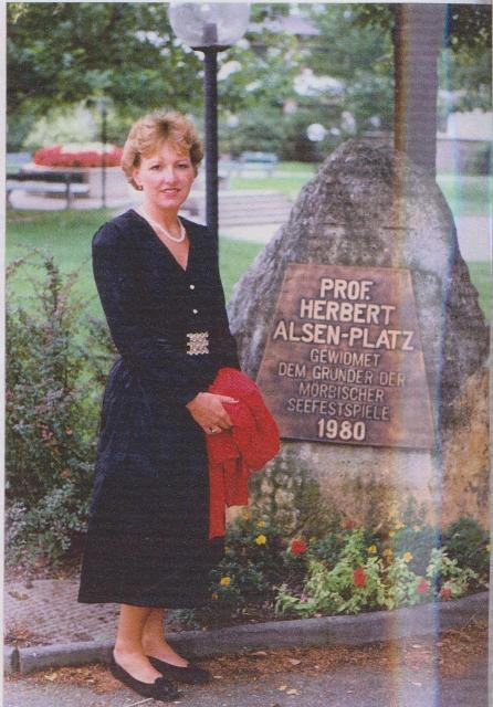 Die Spielleiterin Helga Föger-Pittl 1989