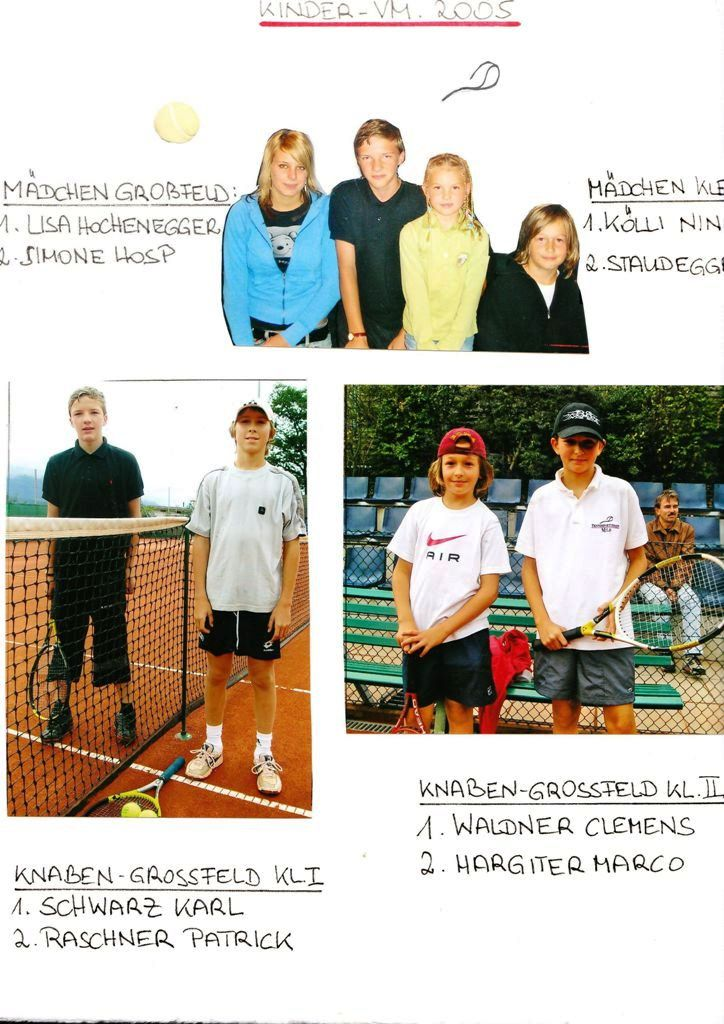 TSV: Kinder-Vereinsmeisterschaft 2005