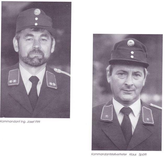 Einweihung des Feuerwehrhauses 1991