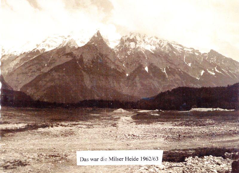 Die Milser Heide 1962