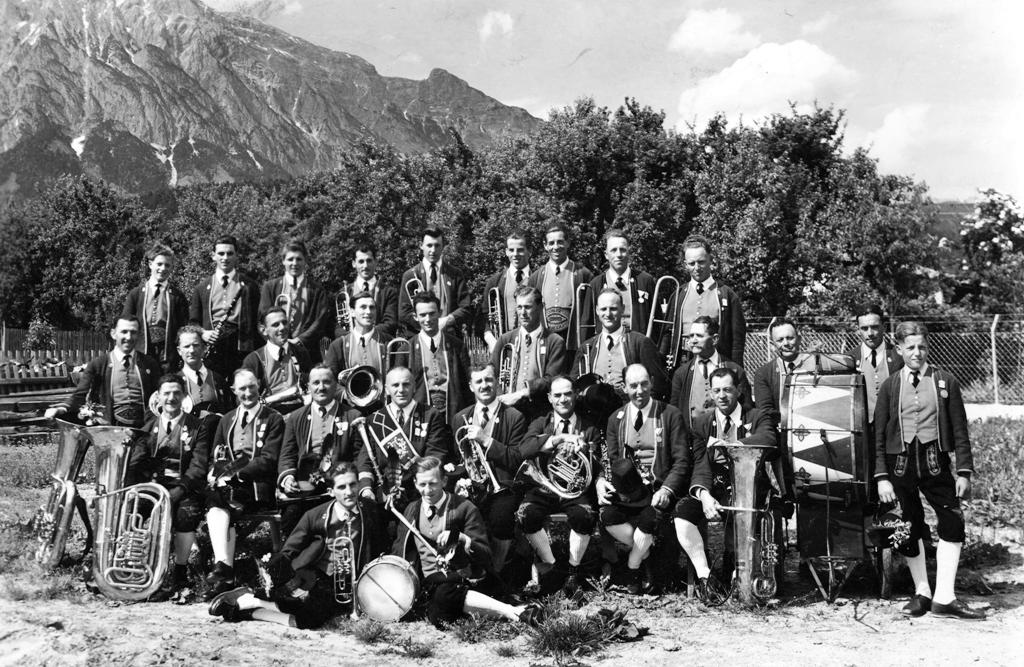 Musikkapelle 1955