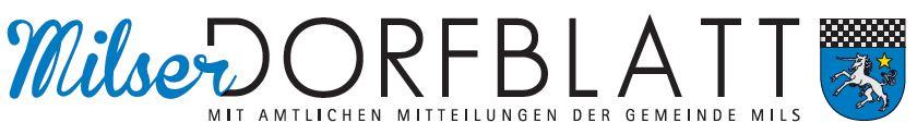 Milser Dorfblatt - neu