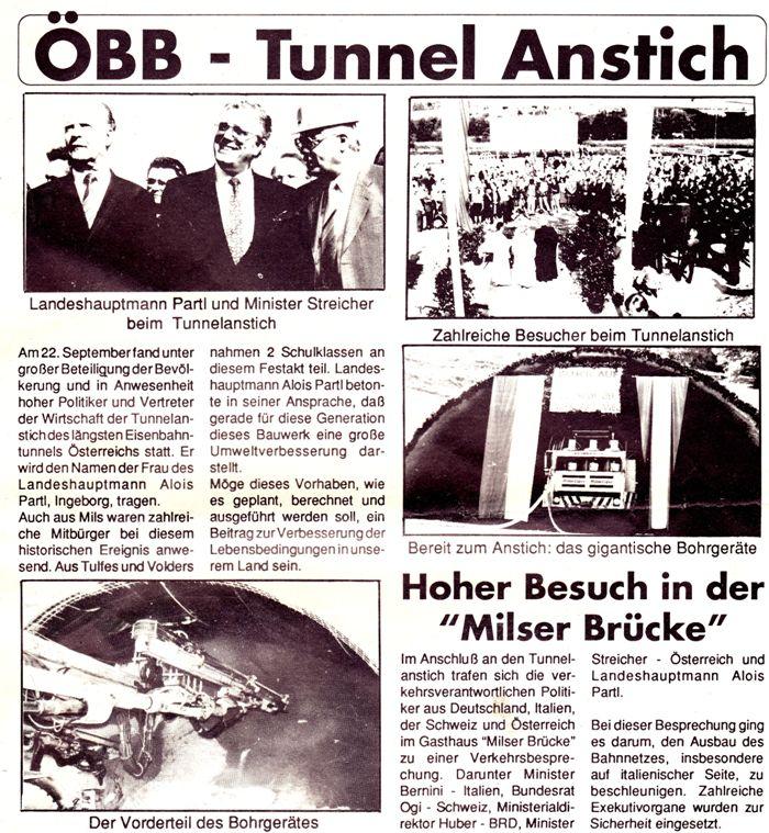 ÖBB-Tunnelanstich