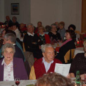 Weihnachtsfeier der Senioren 2010
