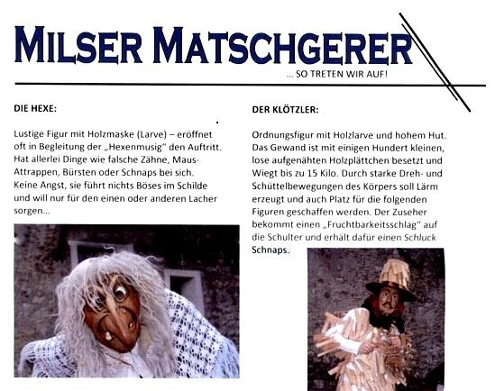 Figuren der Milser Matschgerer (2012)