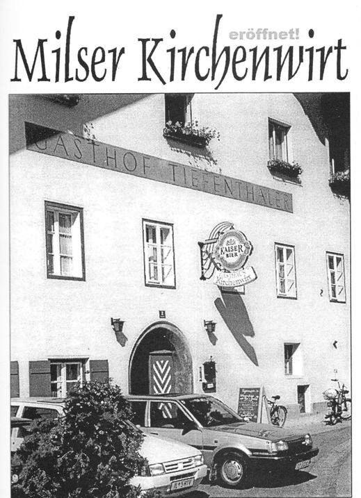 Kirchenwirt - Eröffnung 1999