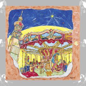 """Weihnachtskarte """"Die Fünfte"""" von Andreas Arnold"""