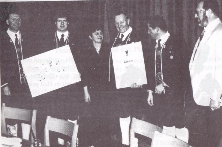 Musikkapelle: Ehrungen 1994