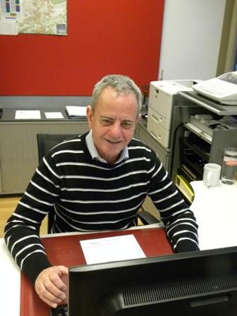Ludwig Gabl in seinem Büro 2013