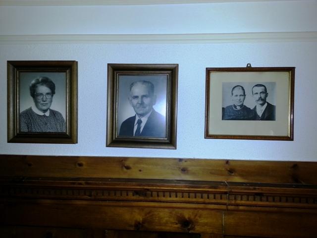 v.l.: Marianne, Sepp, Notburga, Bonifaz Oberhofer