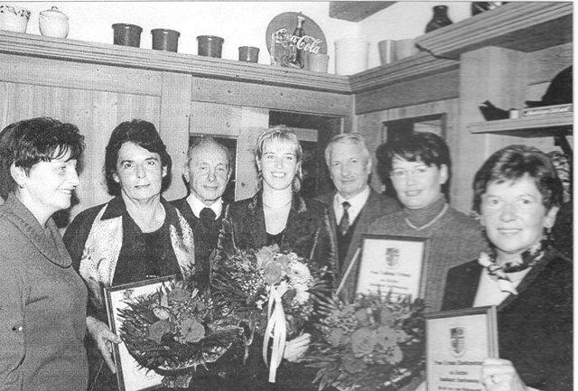 Kirchenchor: Ehrungen 1999
