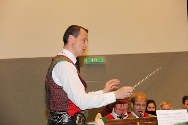 Das erste Frühjahrskonzert des neuen Kapellmeisters: Florian Pranger
