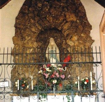 Die Lourdeskapelle im Unterdorf