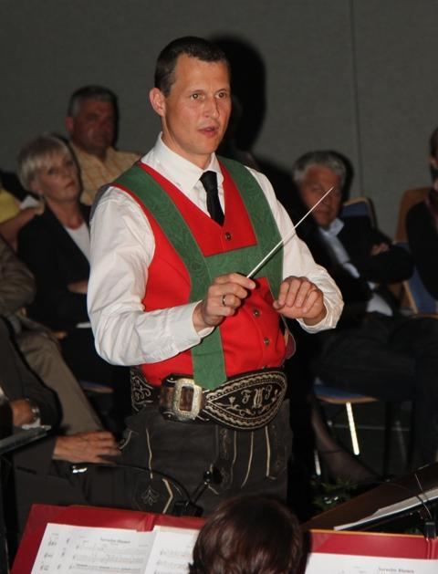 Kapellmeister Florian Pranger