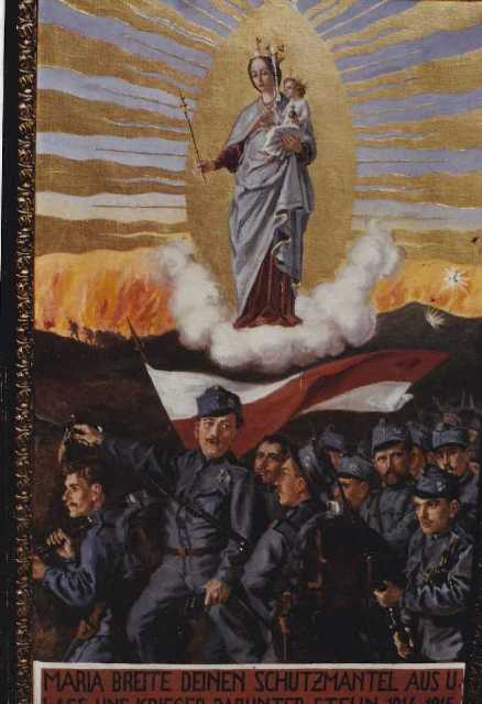Votivbilder 1. Weltkrieg