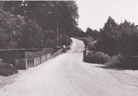 Weißenbachbrücke in den späten 1930er Jahren