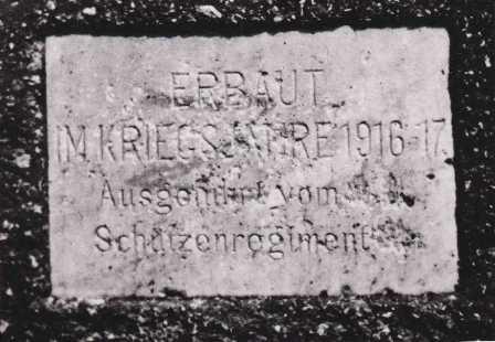 Gedenktafel Weißenbachbrücke