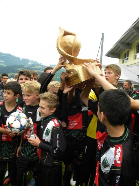 Die Sieger vom FC Wacker Innsbruck