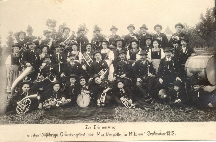 Musikkapelle 1912