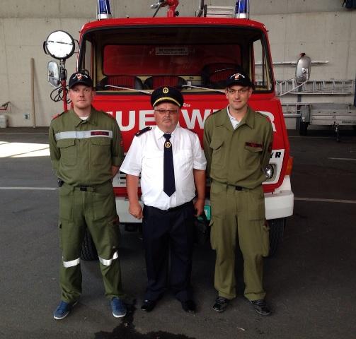 Feuerwehr: Übernahme des neuen und Übergabe des alten Lastfahrzeuges