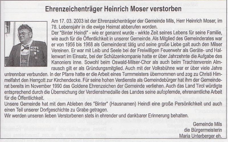 Heinrich Moser