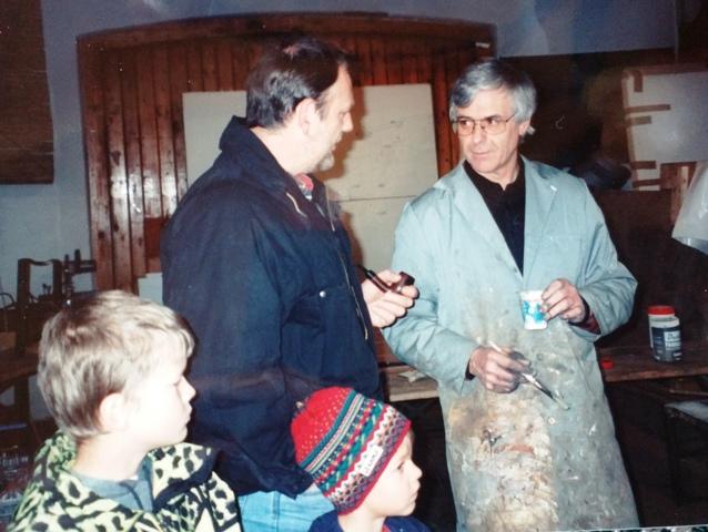 Christian Pittl und Rupert Messner