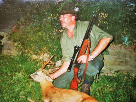 Ferdl bei der Jagd (in Slowenien)
