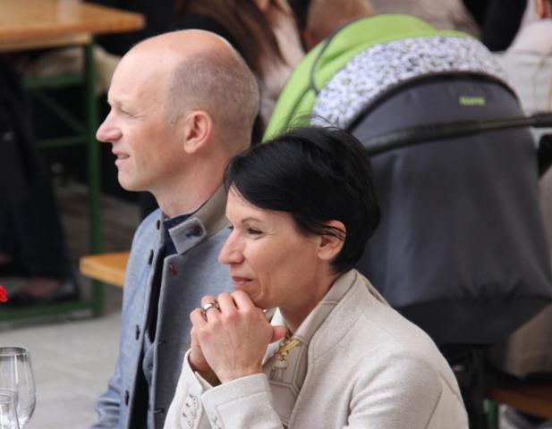 Markus Prackwieser, Einweihung Dorfzentrum 2017