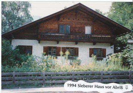 Sieberer Haus, 1994