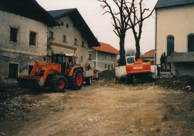 Sanierung Unterdorf 1995