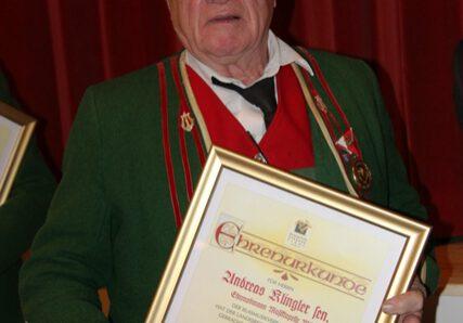 Andreas Klingler: Abschied von der Musikkapelle