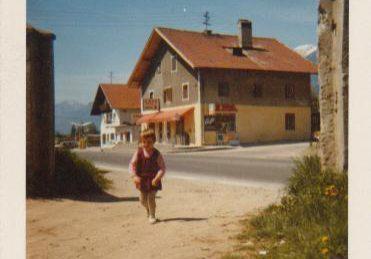 Haus Knab Raggl an der Bundesstraße
