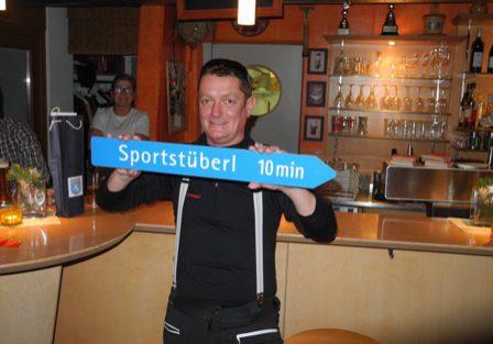 Werner Killinger: 10 Jahre Sportstüberl