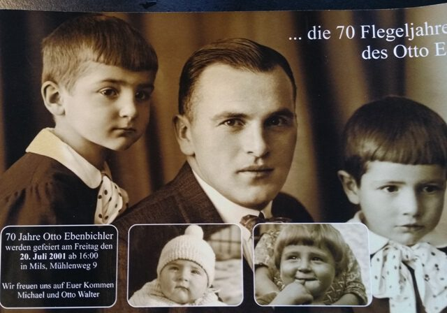 Otto Ebenbichler sen. Familie