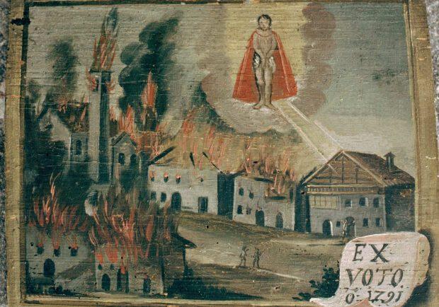 Der Kirchenbrand 1791