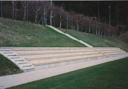 Tribüne Sportplatz 1994