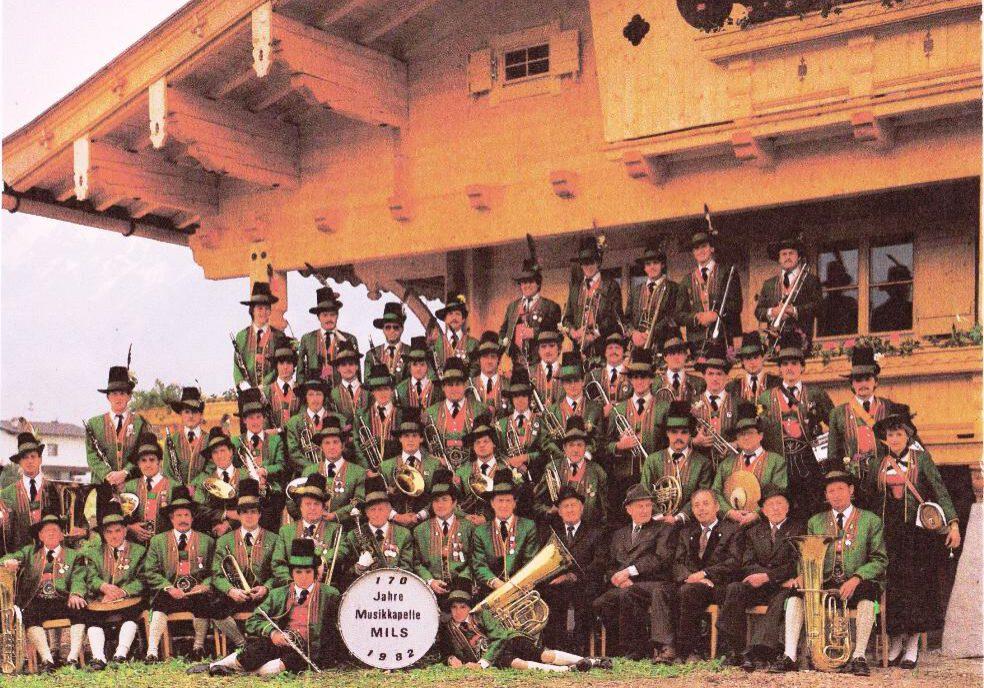 Musikkapelle: Mannschafts-Foto 1982